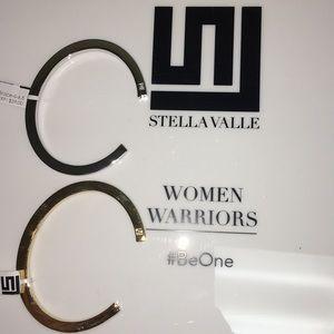 "The StellaValle ""D"" initial cuff bracelet"